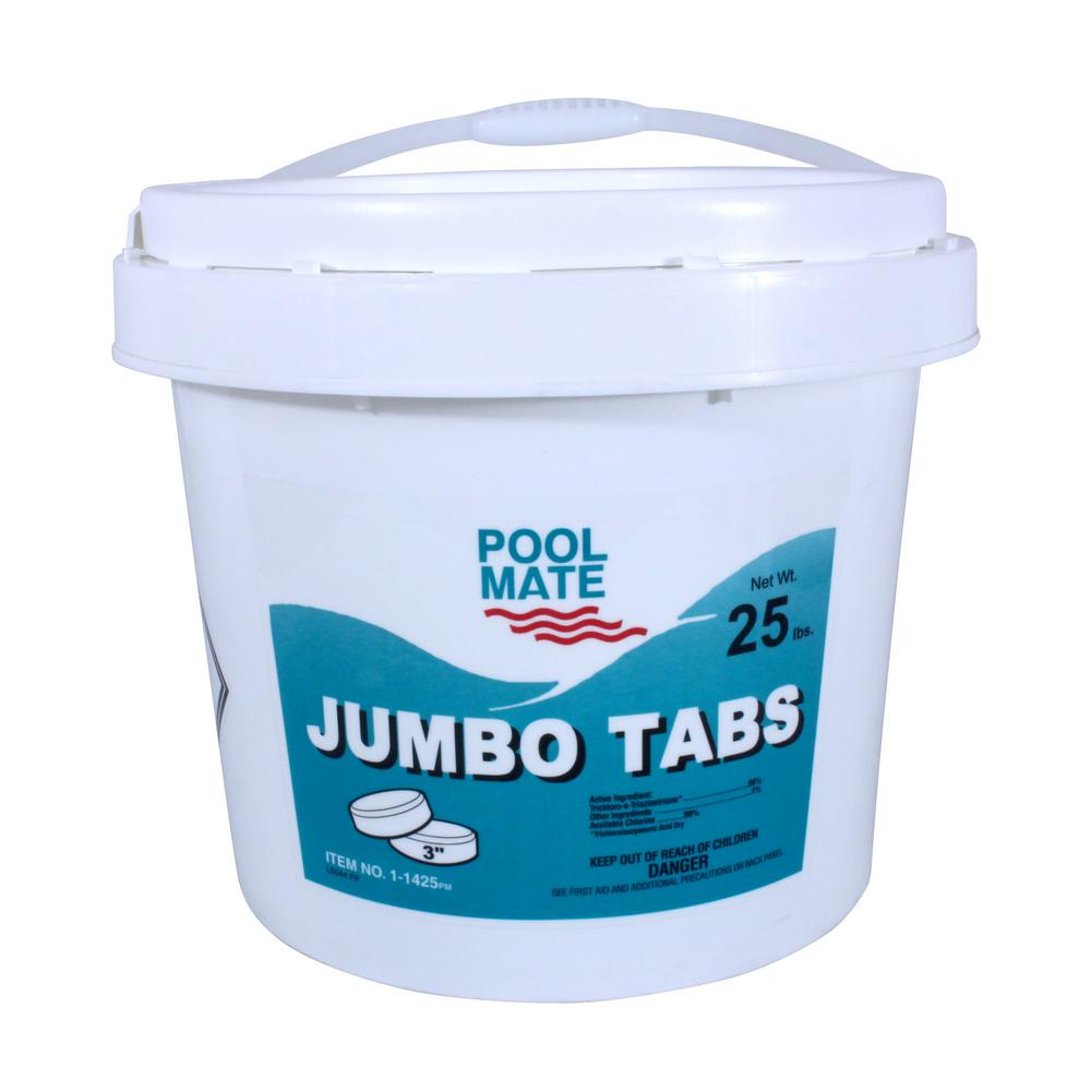25 lb. Pool 3 in. Chlorine Jumbo Tabs