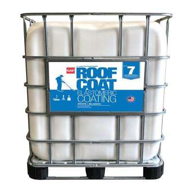 250 Gal. White Roof Coat Acrylic Reflective Roof Coating (7-year Limited Warranty)