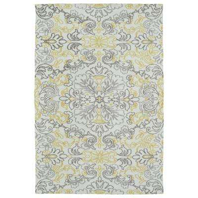 Cozy Toes Ivory 9 ft. x 12 ft. Area Rug