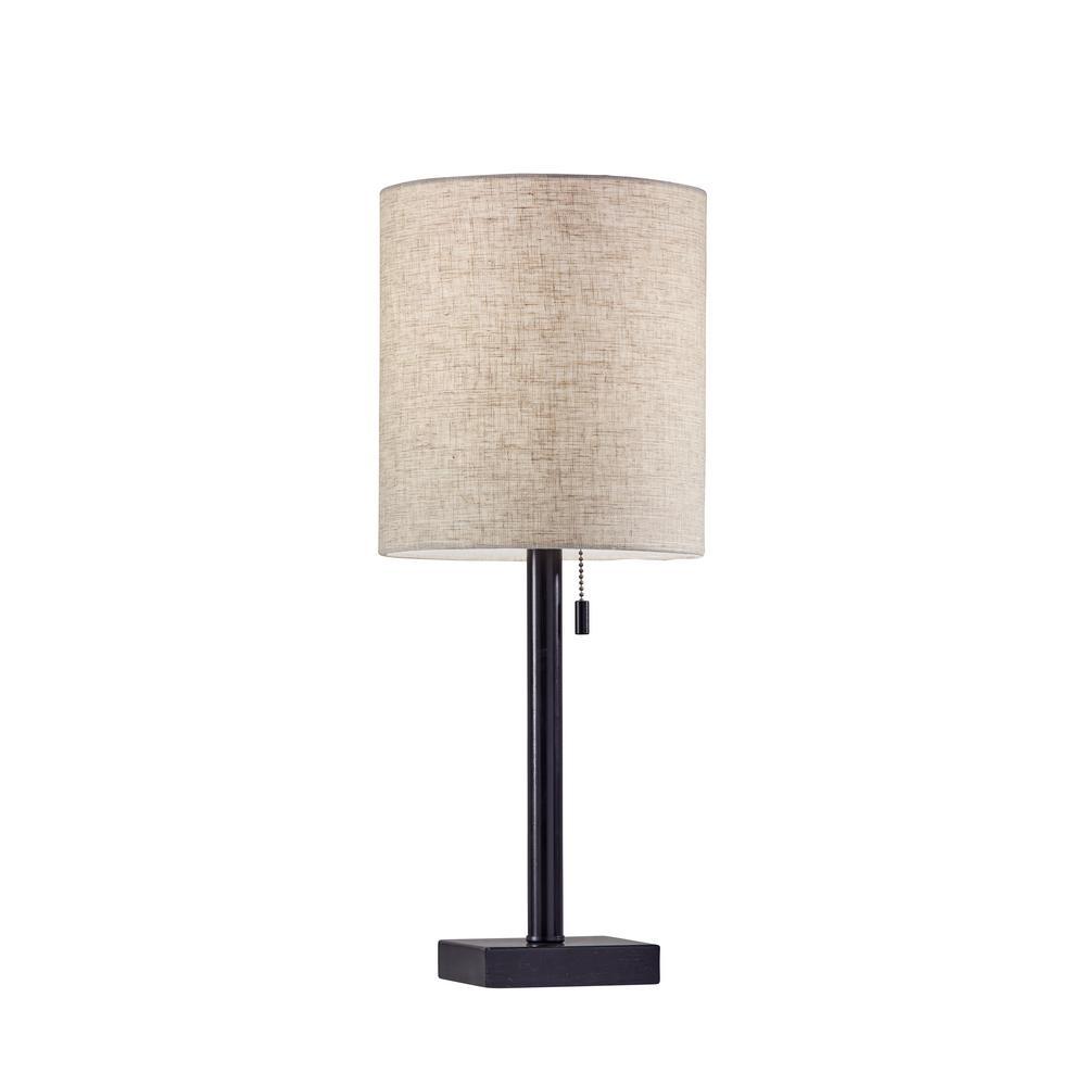 Adesso Liam 22 In Bronze Table Lamp