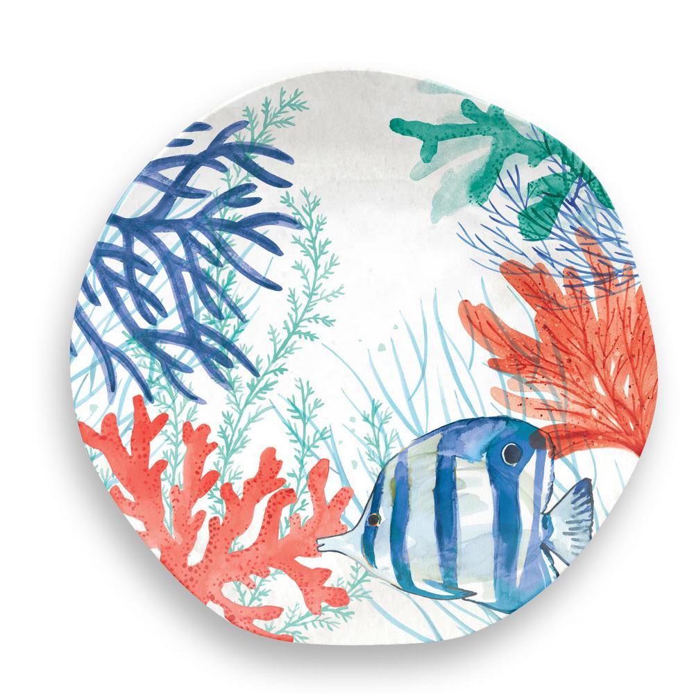 Sea Life Dinner Plate (Set of 6)