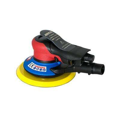 Composite 6 in. Central Vac Orbital Palm Sander 3/32 in. Orbit