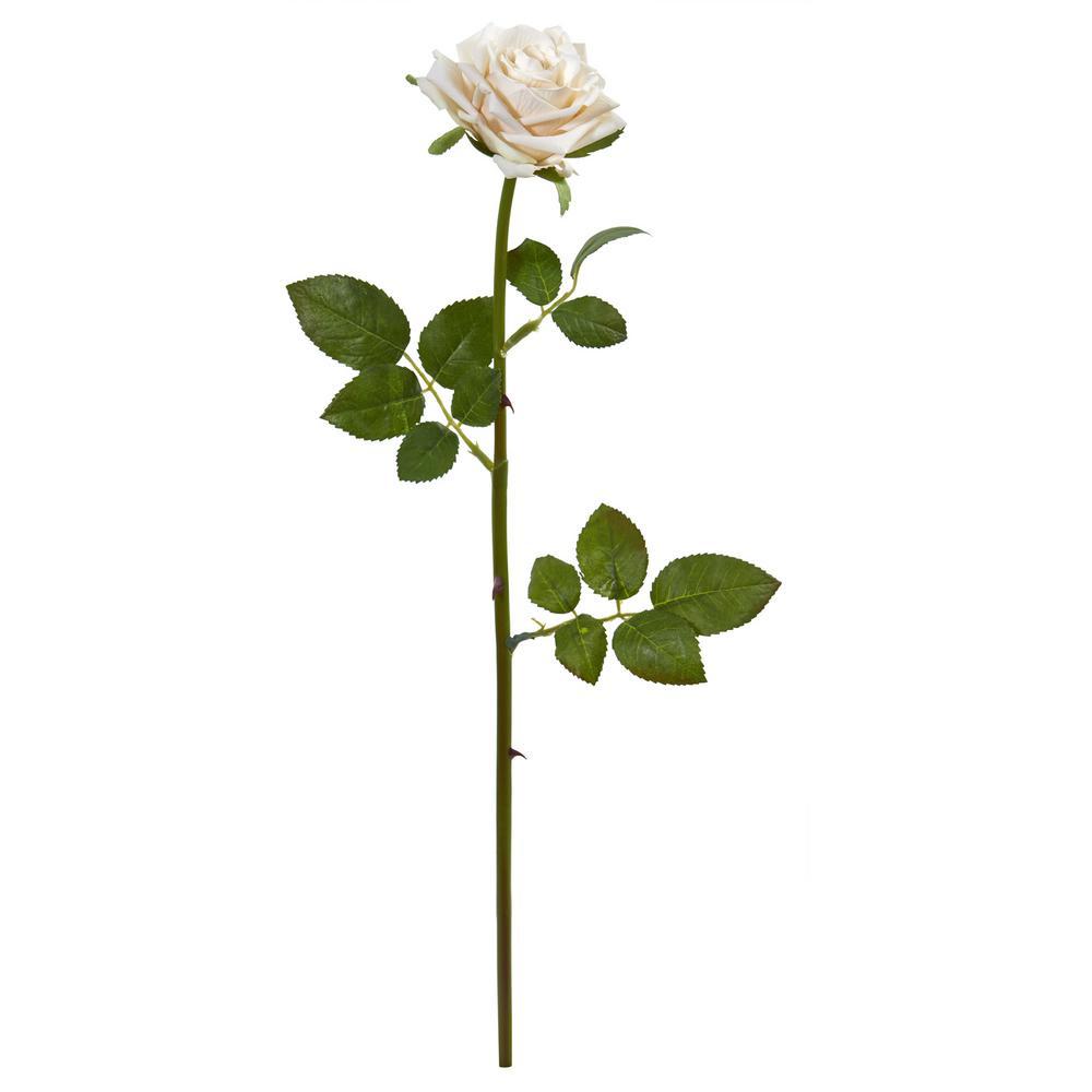 Indoor 19 Rose Spray Artificial Flower (Set of 12)