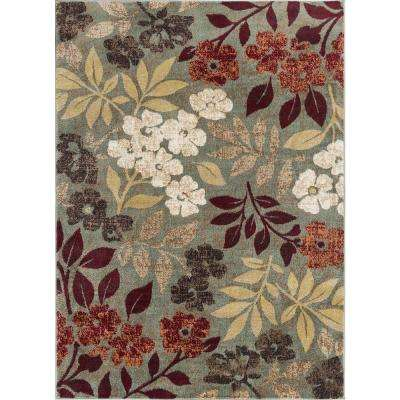 Deco Seafoam 9 ft. 3 in. x 12 ft. 6 in. Transitional Area Rug