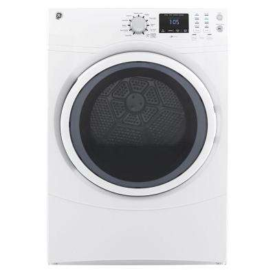 7.5 cu. ft. High Efficiency Gas Dryer in White