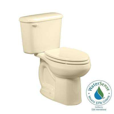 Colony 2-piece 1.28 GPF Right Height Elongated Toilet for 10 in. Rough in Bone