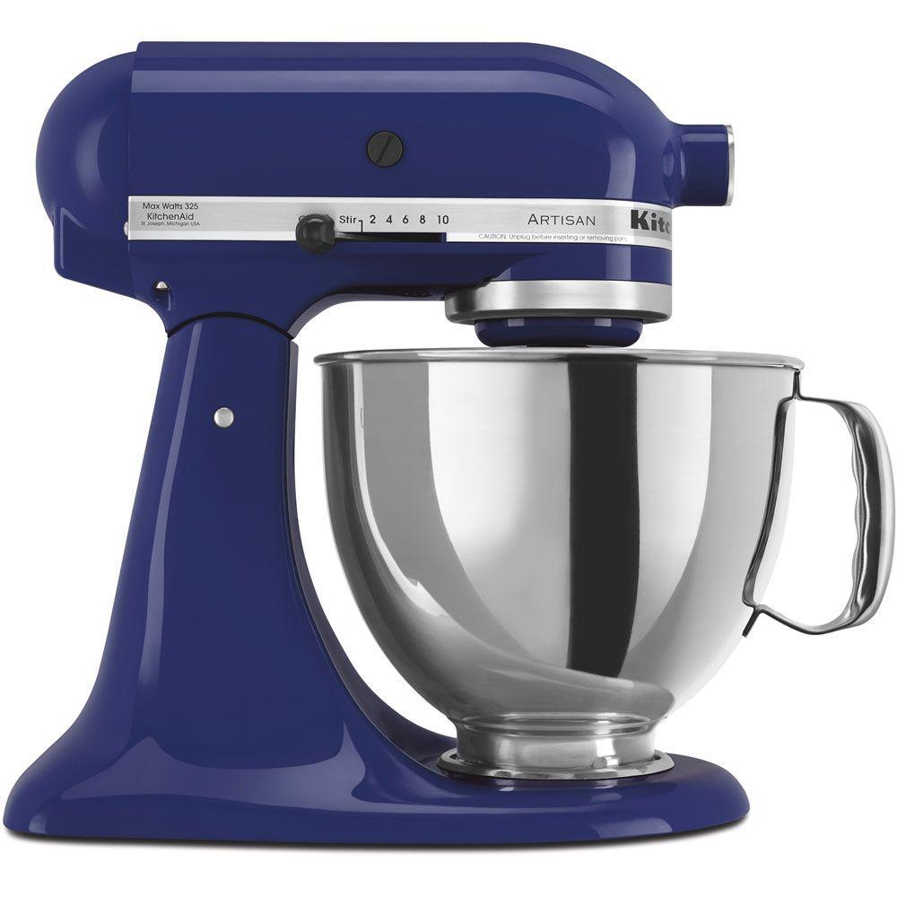 Artisan 5 Qt. Cobalt Blue Stand Mixer