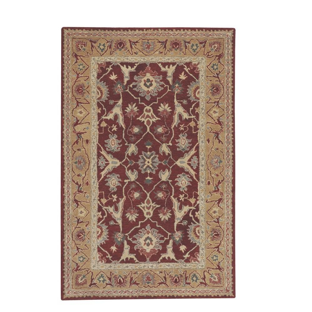 Home Decorators Collection Jaipur Red 9 Ft 9 In X 13 Ft