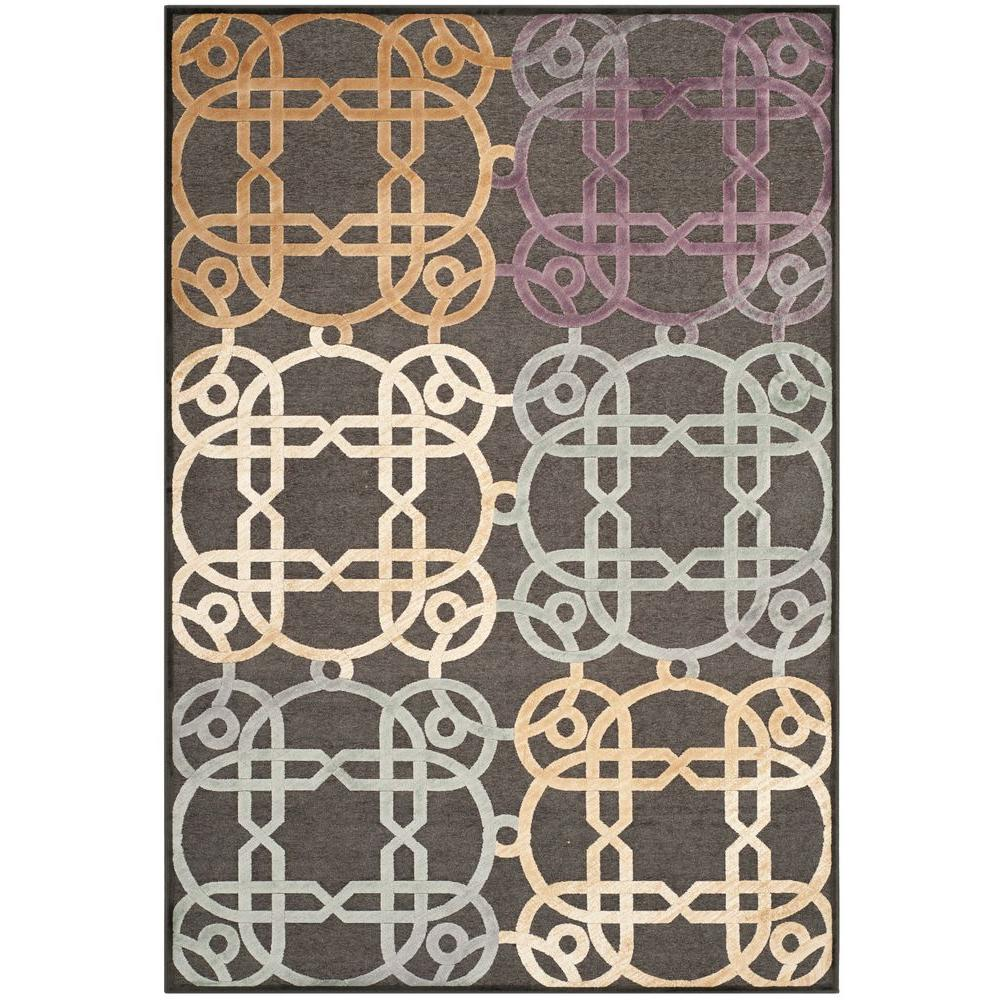 Safavieh Paradise Charcoal/Multi 8 ft. x 11 ft. 2 in. Area Rug