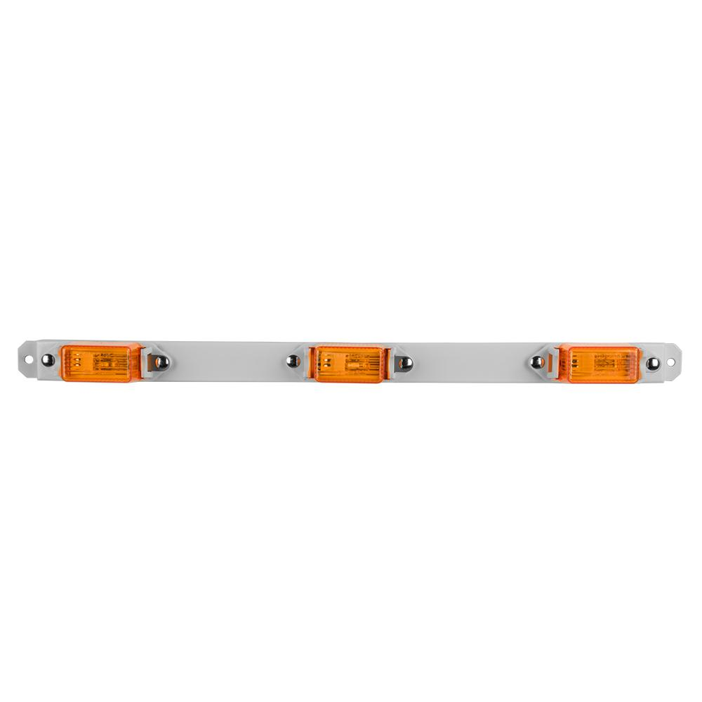 Clearance 15-1/16 in. Mini ID Light Bar Amber