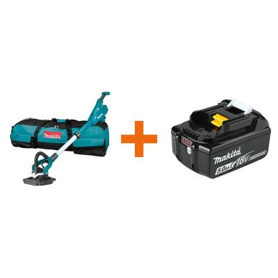 18-Volt LXT Lithium-Ion Brushless Cordless 9 in. Drywall Sander, AWS Capable with bonus 18-Volt LXT Battery Pack 5.0Ah