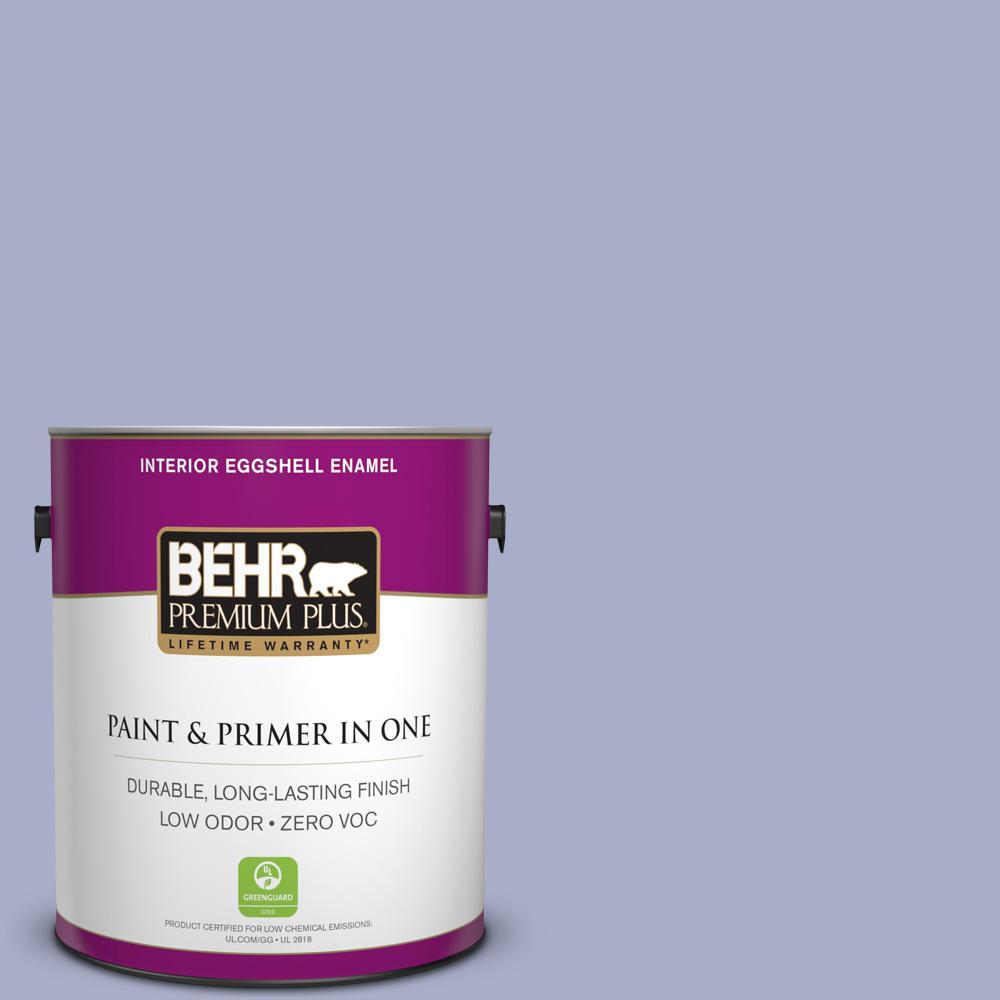 1-gal. #S540-3 Meadow Phlox Eggshell Enamel Interior Paint