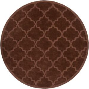 Artistic Weavers Central Park Abbey Chocolate 9 ft. 9 inch x 9 ft. 9 inch Round Indoor... by Artistic Weavers