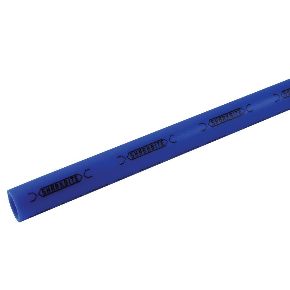 sharkbite 3 4 in x 2 ft blue pex pipe u870b2 the home depot. Black Bedroom Furniture Sets. Home Design Ideas
