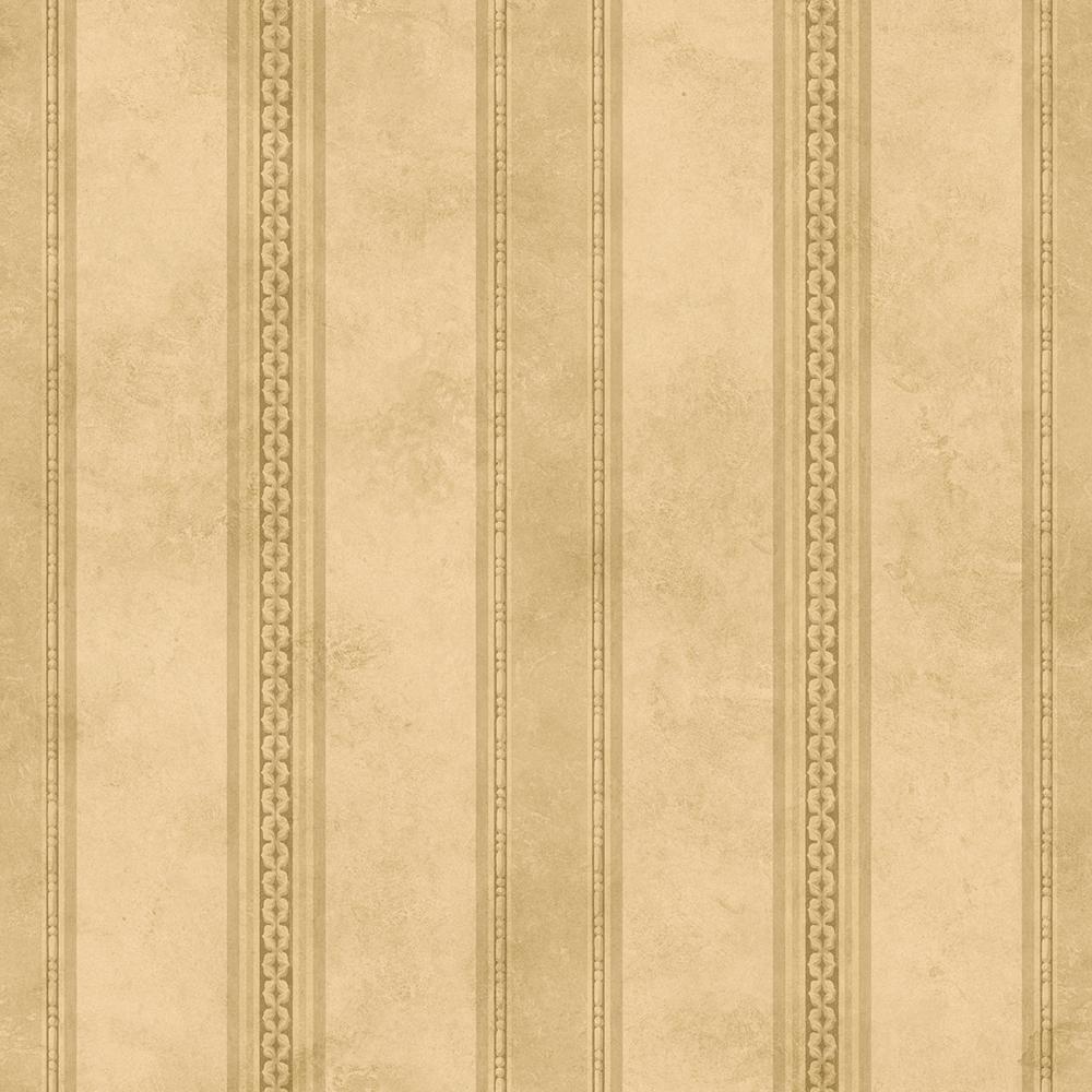 Brewster Tuscan Beige Stripe Wallpaper ARB67609