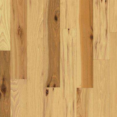 Rustic Hickory Natural 3/4 in. Thick x 5 in. Wide x Varying Length Solid Hardwood Flooring (23.5 sq. ft. / case)