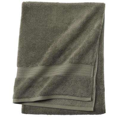 Newport 1-Piece Bath Towel in Moss