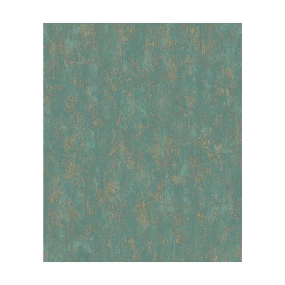 Mixed Metals Shimmering Patina Wallpaper