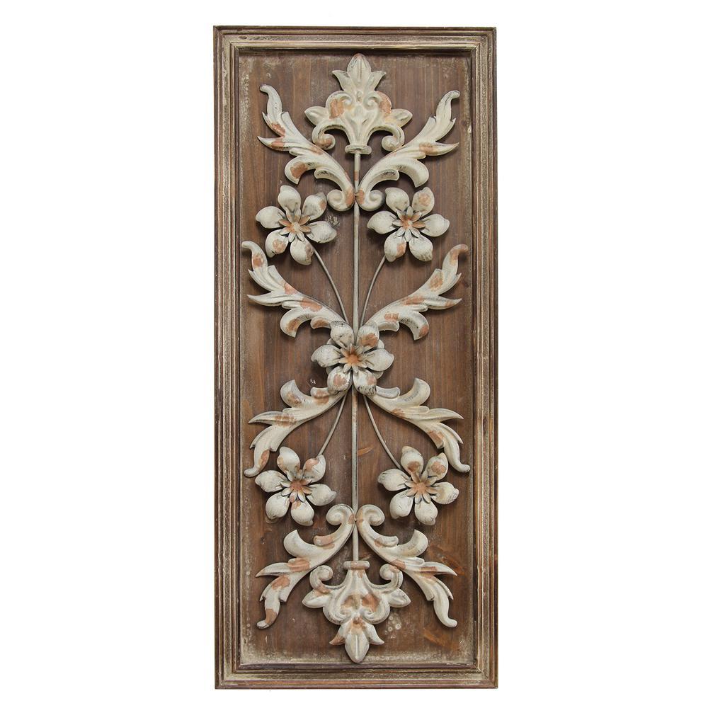 Stratton Home Decor Vintage Panel Wall Decor Shd0118 The
