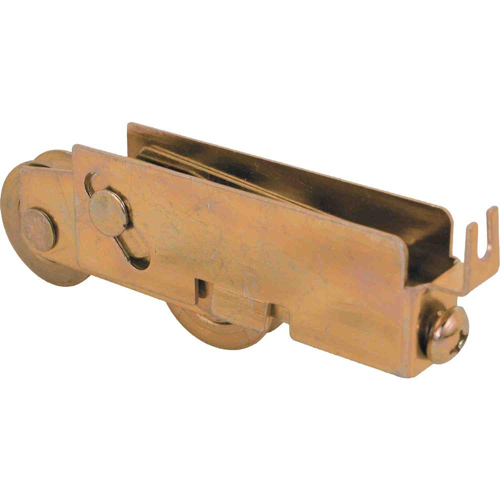 Prime Line 1 1 4 In Steel Ball Bearing C Tab Sliding Door Tandem Roller Assembly Pacific And Elco D 1551 The Home Depot