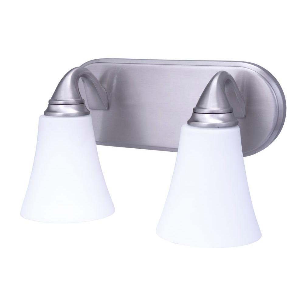 Pfister Pasadena 2-Light Vanity - Brushed Nickel-DISCONTINUED