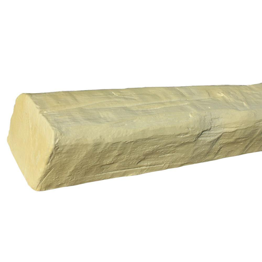 Superior Building Supplies 7-3/4 in. x 6-1/8 in. x 14 ft. 9 in. Unfinished Faux Wood Rustic Beam