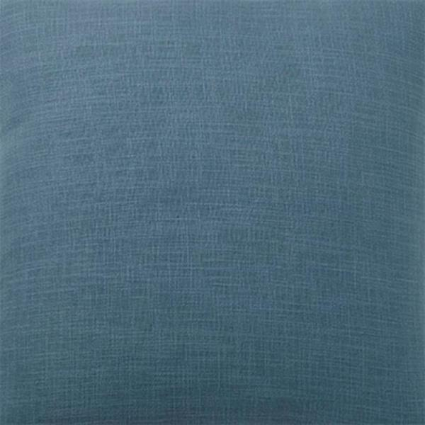 The Company Store Concord Mineral Teal Throw Pillow Cover, 16 in. Square