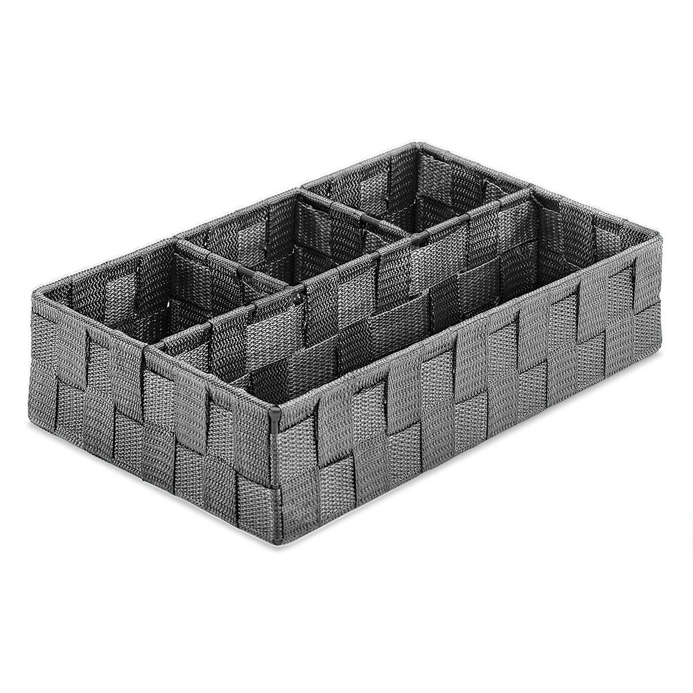 c6053aea7d8 Whitmor 7.87 in. x 2.76 in. 4-section Tray Basket-6581-4550-SAGRY ...