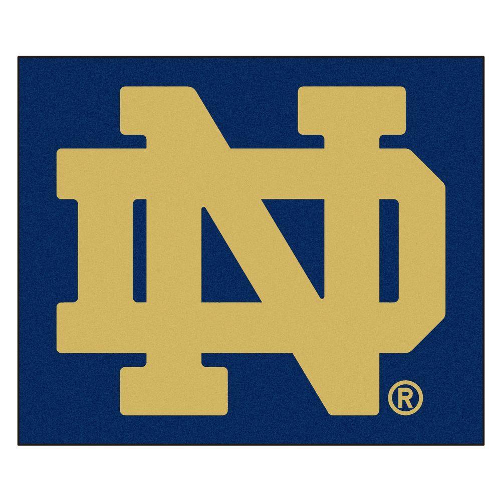 Notre Dame University 5 ft. x 6 ft. Tailgater Rug
