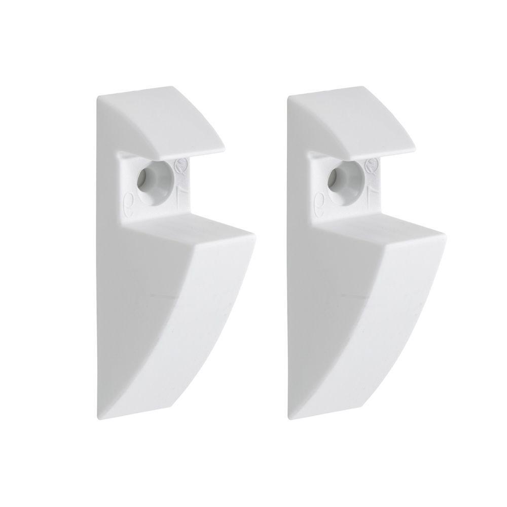 3/4 in. Shelf Support Clip in White
