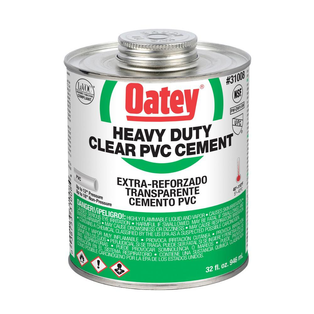 Oatey Oatey 32 oz. PVC Heavy-Duty Cement