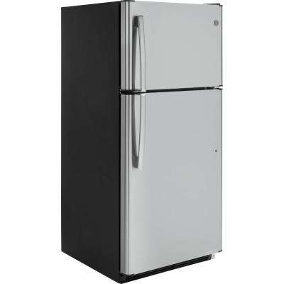 18.2 cu. ft. Top Freezer Refrigerator in Stainless Steel