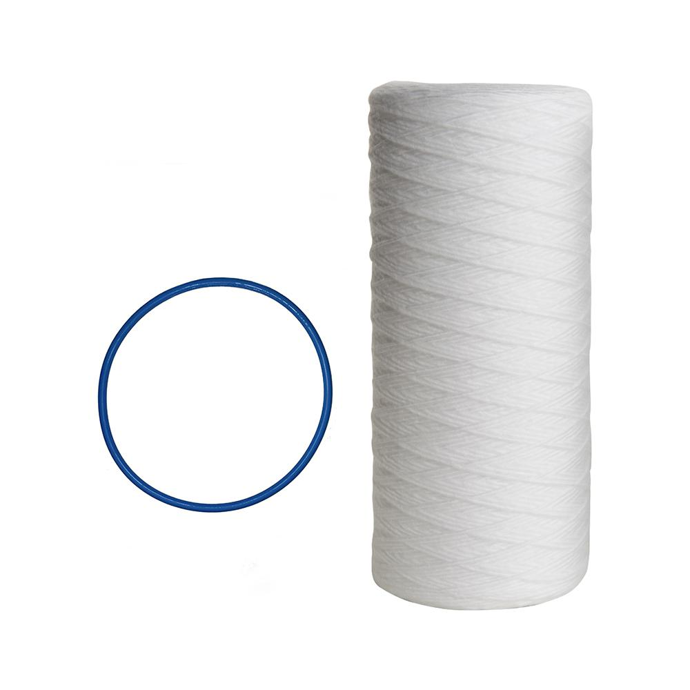 Pelican Water Replacement Filter 4-Pack 10 in Filters 5 Micron Sediments Odors