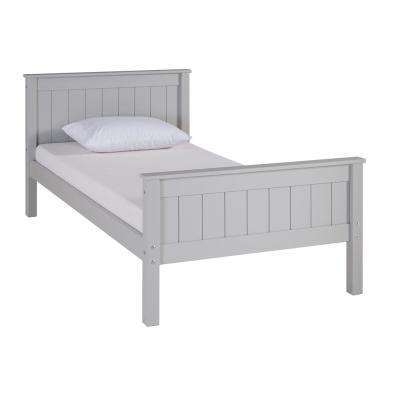 Harmony Dove Gray Twin Bed
