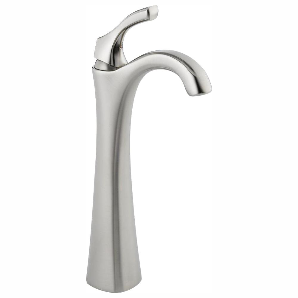 Addison Single Hole Single-Handle Vessel Bathroom Faucet in Stainless