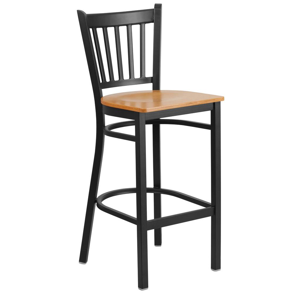 Flash Furniture 30 In Black Bar Stool Ch3132030bk The