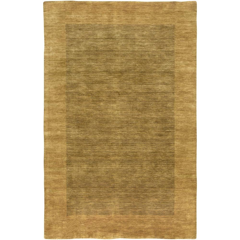 LR Resources Loom Seridian Ochre 5 ft. x 7 ft. 9 in. Plush Indoor Area Rug