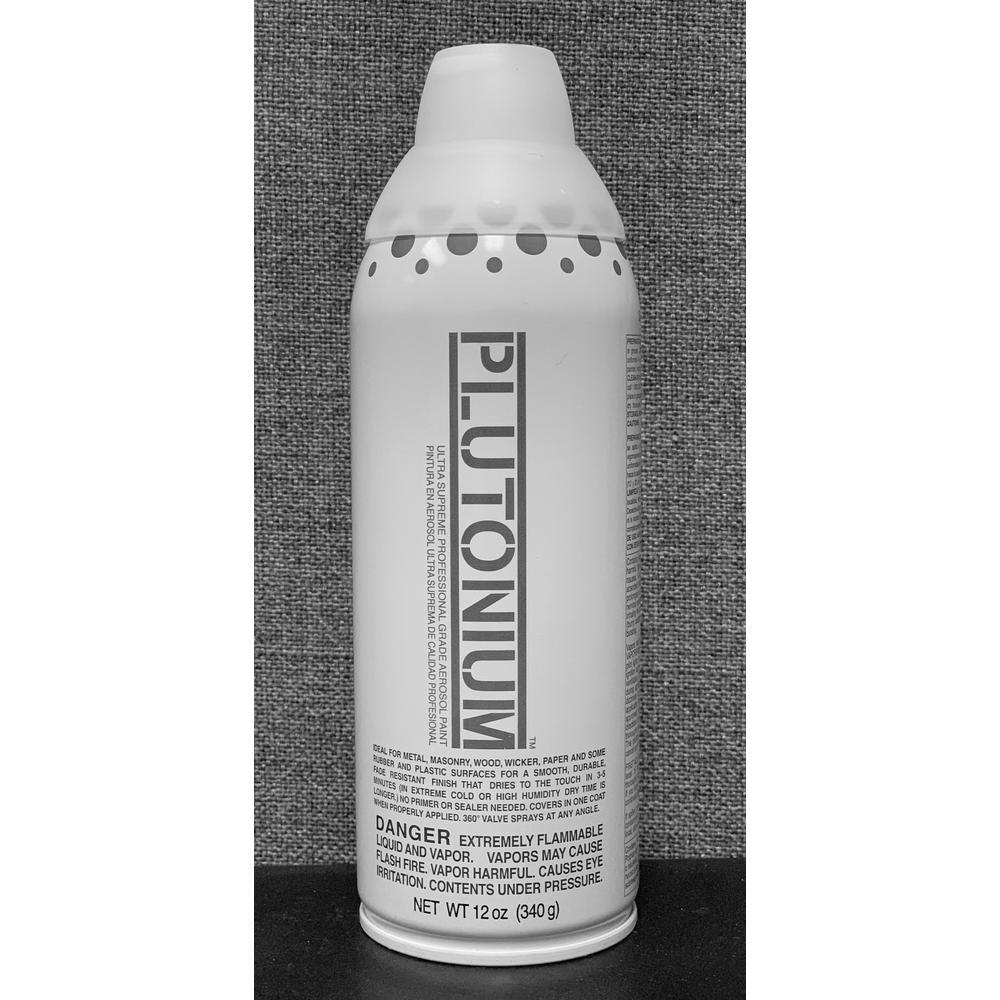 Plutonium 12 oz.. Clear Coat Gloss Spray Paint