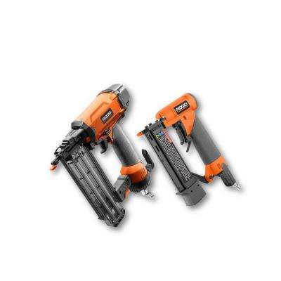 18-Gauge 2-1/8 in. Brad Nailer and 23-Gauge 1-3/8 in. Headless Pinner 2-Tool Combo