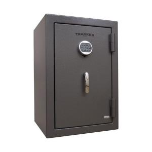Tracker Safe 3.24 cu. ft. Steel Fire Resistant Home Safe with Electronic Lock, Gray by Tracker Safe