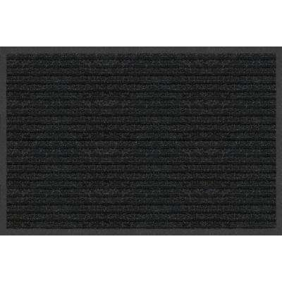 Platinum Charcoal 20 in. x 30 in. Needle Punch Door Mat