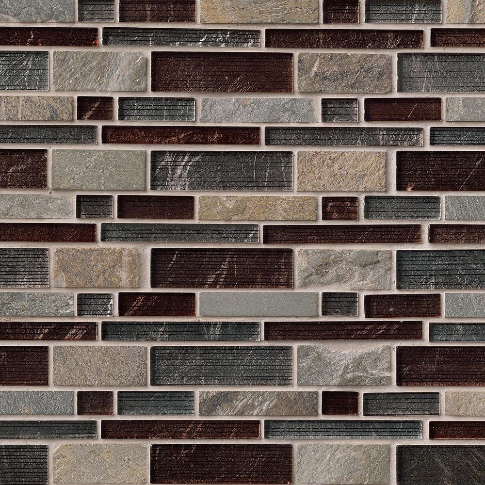 Msi urbano blend interlocking 12 in x 12 in x 8 mm glass for Installing glass tile with mesh back