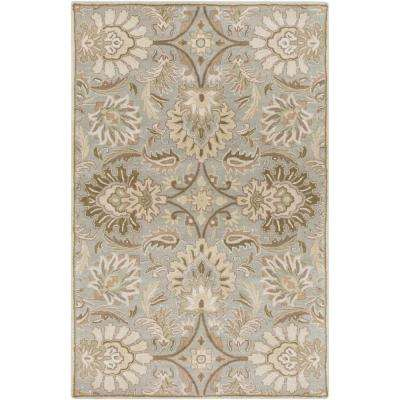 Vitrolles Gray 9 ft. x 12 ft. Indoor Area Rug