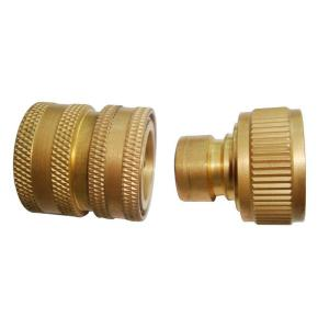 Beautiful Beast Brass Garden Hose Quick Connect For Pressure Washer SP01309   The  Home Depot