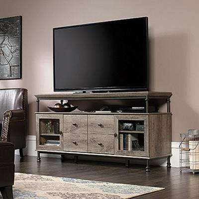 Sauder Tv Stands Living Room Furniture The Home Depot