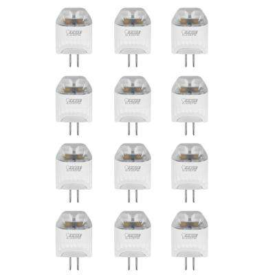 20-Watt Equivalent Warm White Wedge LED 12-Volt Bi-Pin G4 Base Landscape Gardening Light Bulb (12-Pack)