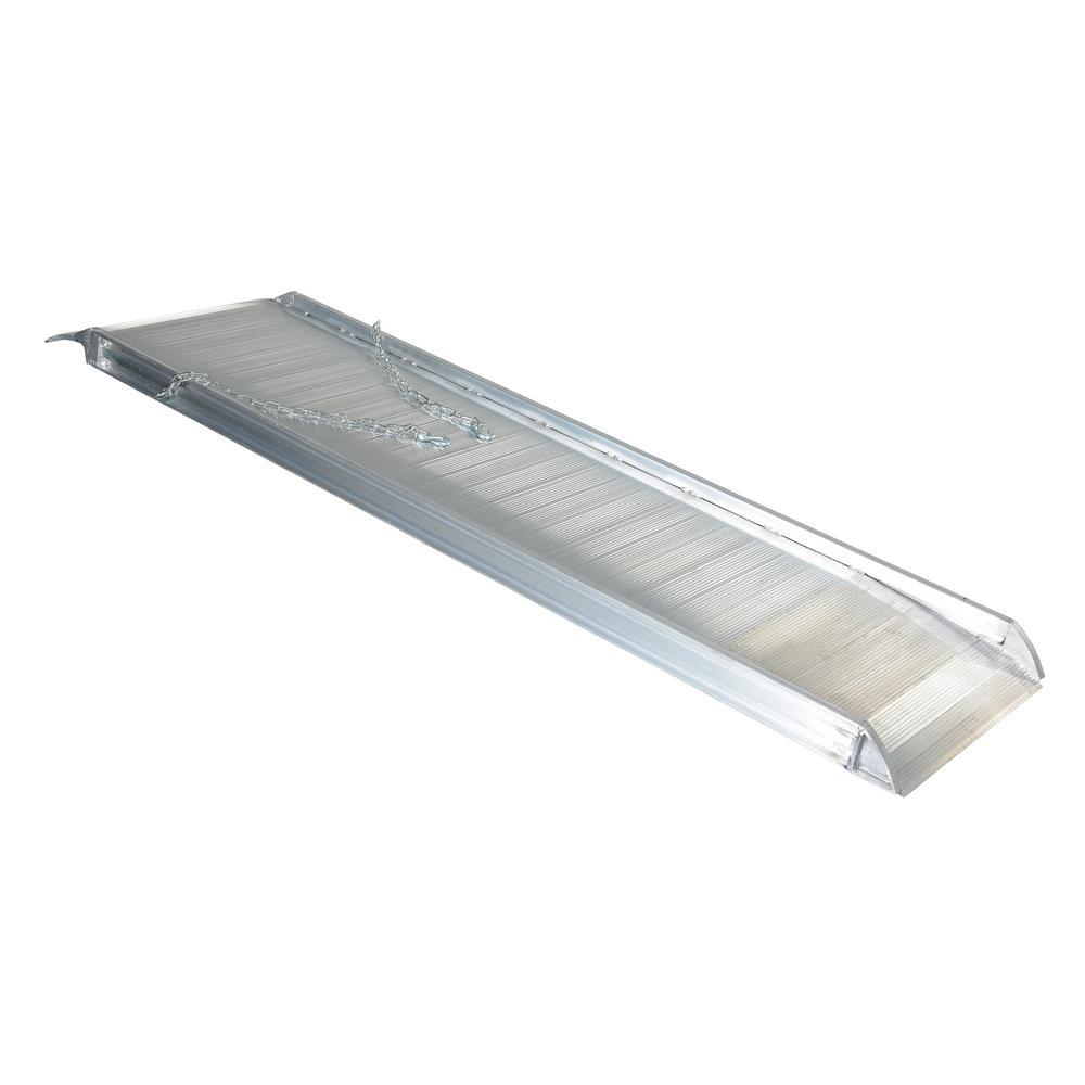 96 in. x 28 in. Aluminum Walk Ramp Overlap Style