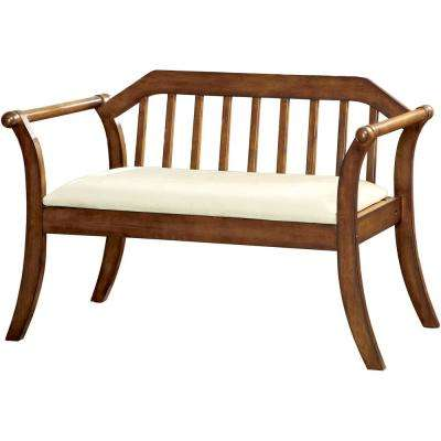 Derby Dark Oak Bench