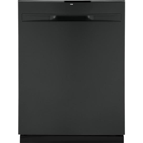GE 24 in. Top Control Built-In Tall Tub Dishwasher in Black Slate with Steam Prewash, Fingerprint Resistant, 50 dBA