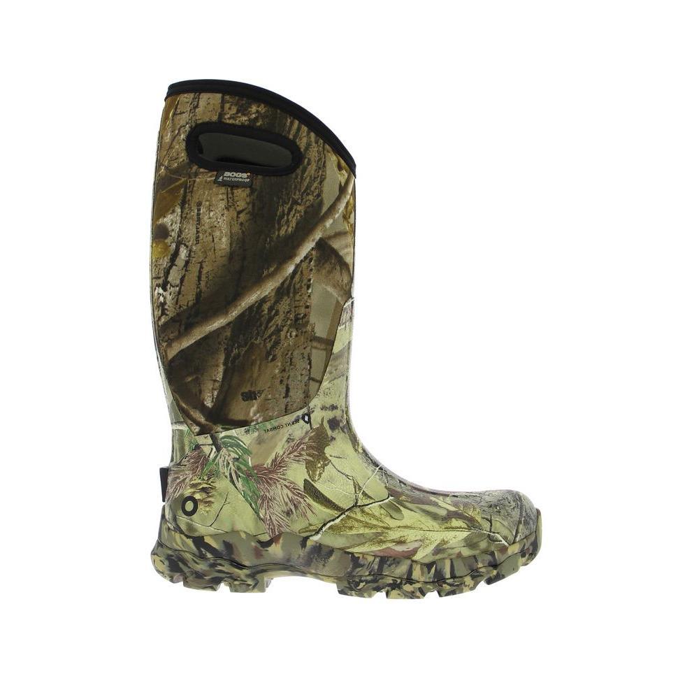 BOGS Ranger Camo Men's 14 in. Size 7 Realtree Rubber with Neoprene Waterproof Hunting Boot